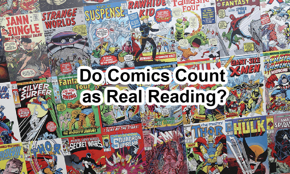 Comics count as reading