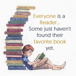 everyone is a reader quote